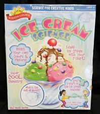 Scientific Explorer Ice Cream Science Kids Science Experiment Kit Children Toy