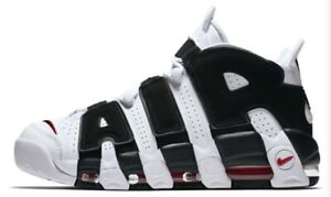 Nike Air More Uptempo Scottie Pippen 414962-105 Black White Mens Size 12 New