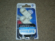 NEW PHILIPS 3157LED VISION TURN SIGNAL PARKING BACKUP LIGHT BULBS PACK OF 2 RED