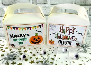 Personalised Halloween Gift Box Trick Or Treat Favour Gift Box Halloween 2021