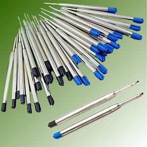 1 - 50 Stk. Großraummine  Kulimine Kugelschreiberminen Kuliminen  Schwarz Blau