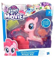 My Little Pony The Movie Official Glitter & Style Seapony - Pinkie Pie - New