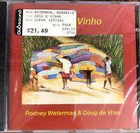 Rodney Waterman - Agua e Vinho (CD 2000 Carmo - Germany) Brand NEW