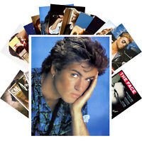Postcards Pack [24 cards] George Michael Rock Music Vintage Posters Photo CC1288