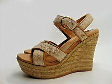 UGG Jazmine W Jazmine Soft Gold Wedge Heel Sandals (Size 4.5 UK) Authentic
