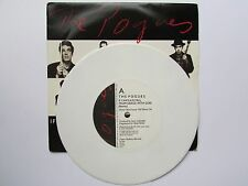 "THE POGUES...IF I SHOULD FALL FROM GRACE..1988 RARE WHITE 7"" VINYL,  EX+ COND"