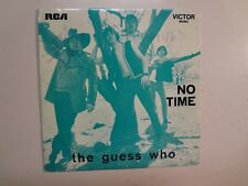 "GUESS WHO?: No Time-Undun + 2-Portugal 7"" 1970 RCA Victor Records TP 534 EP PCV"