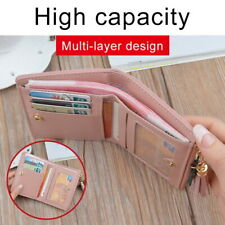 Women Short Small Money Purse Ladies Leather Folding Coin Card Holder Wallet CHO
