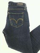Levi's 535 Legging Womens Jeans Dark Blue Denim Sz 3 S/C
