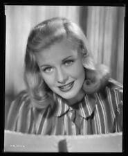 GINGER ROGERS - Vintage 1939 Portrait Camera Negative