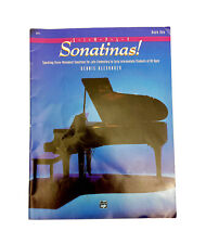SIMPLY SONATINAS!, Book One Piano Book-by Dennis Alexander-PB-Alfred Music
