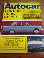 AUTOCAR LONDON SHOW REPORT, OCT. 1966