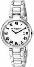 Raymond Weil Shine Stainless Steel Ladies Swiss Watch 1600-ST-00659