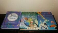 Elementary Dictionary...Illustrated Dictionary...Encylopedia...Children Books