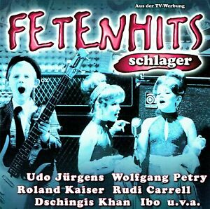 (2CD's) Fetenhits - Schlager - Vader Abraham, Frank Farian, France Gall, Dorthe