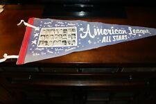 RARE 1965 AMERICAN LEAGUE ALL STAR GAME TEAM PHOTO 24 PICTURE PENNANT MINN TWINS