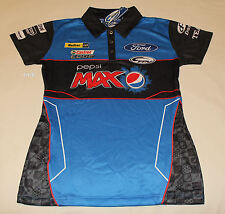 Ford Performance Racing FPR Ladies Pepsi Max Raceteam Polo Shirt Size 8 New