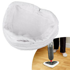 6pcs Universal Steam Mop Head Washable Re-Useable Floor Cloth Pads Replace