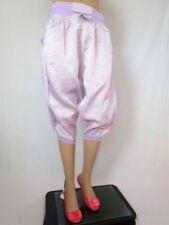 Cotton Blend Plus Size Vintage Shorts for Women
