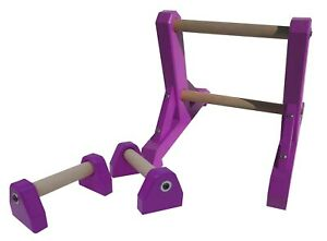 Duo Set – 2 Tier Ladder with Pair of Mini Paralettes - handstand gymnastic acro