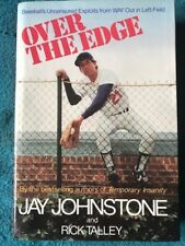 Over the Edge by Jay Johnstone / Rick Talley Hardcover Book VG Inscribed/Signed