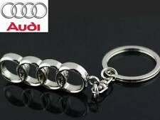 AUDI A1, A3, A4, A5, A6, Q3 Metal KeyChain Keyring with Gift Pouch [Style11]