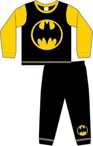 Childrens Batman Pyjamas Nightwear PJ 18 months - 5yrs FREE UK P&P