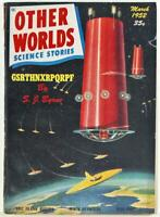 Other Worlds Science Stories March 1952 Pulp Magazine Vol. 4 No. 2