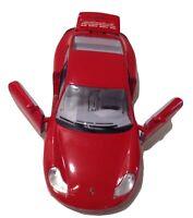 Burago 1997 Porsche Carrera 911 Red 1/24 Die-Cast Car Model