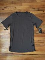 Mens Nike DRI-FIT Utility Training Short Sleeve T-Shirt Top Brown AA1591 202