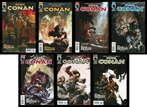 King Conan Hour of the Dragon Comic Set 1-2-3-4-5-6 Lot + Variant Giorello REH