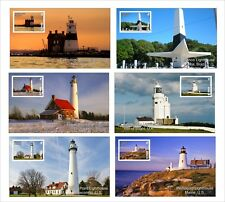 2011 LIGHTHOUSES OF THE WORLD 14 SOUVENIR SHEETS MNH UNPERFORATED LIGHTHOUSE