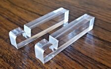 Acrylic Display Blocks for a Glass Cutting Board or Photo Panel