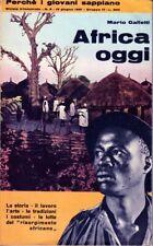 AFRICA OGGI-Rivista 1961-Rhodesia-Congo Lumumba-Guerre etiopiche-Schiavitù-Gabon