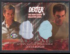 DEXTER SEASON 3 (Breygent) COSTUME CARD #D3 - C4 DEXTER MORGAN