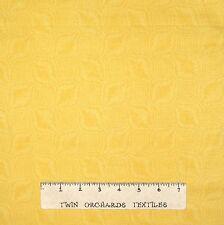 Southwest Fabric - Yellow Tonal Printed Snakeskin - Quilting Treasures YARD
