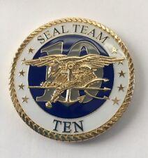 Naval Special Warfare SEAL Team Ten Coin R1