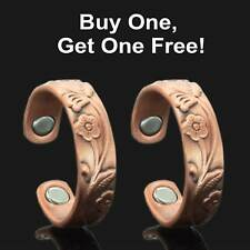 Magnetic Therapy Rings Womens Copper Rings for Arthritis BUY 1 GET 1 FREE - RF