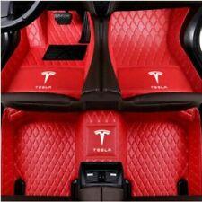 For Tesla-3-S-X -Y 2012-2020 all models luxury custom waterproof Car floor mats
