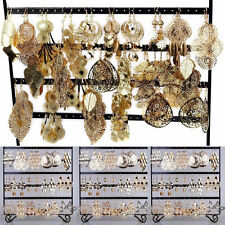 12pairs Wholesale Jewelry lots Mixed Style Gold Plated Fashion Dangling Earrings
