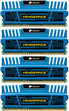 16GB Corsair Vengeance Blue (4X4GB) DDR3 1600 PC12800 Quad Channel 240 Pins