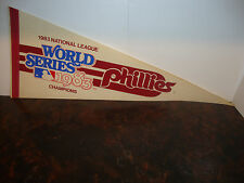 Pennant---Philadelphia Phillies---1983 World Series---N.L. Champions---30x12