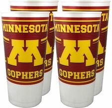 Minnesota Golden Gophers 24 oz. Souvenir Cups (4 per set)