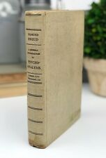 Sigmund Freud A General Introduction to Psycho-Analysis 1943 Vintage Collectible