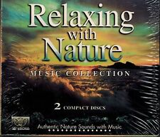 RELAXING WITH NATURE - SEA OF DREAMS & MYSTIC SEA - NEW SEALED 2 CD SET