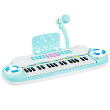 37-Key Toy Keyboard Piano Electronic Musical Play w/Microphone&Music Score