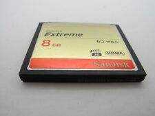 SanDisk Extreme 8GB 60MB/s UDMA CF Compact Flash Camera Memory Card