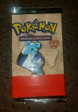 1999 Pokemon Fossil Booster pack             (Rare Red-Line Misprint)