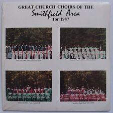 GREAT CHURCH CHOIRS of SMITHFIELD VIRGINIA 87' black gospel PRIVATE LP