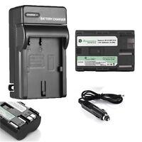 2200mAh BP-511A BP511 Battery + Charger set for Canon EOS BP-511 40D 50D 5D 60D